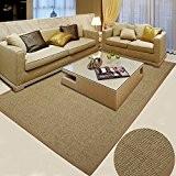 Sisal, usine, tissage, salon, moquette, table basse, moquette, chambre, tapis, bureau, moquette, anti - dérapant, tapis ( couleur : N ...