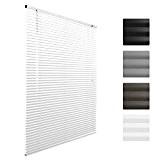 Sol Royal® Store venitien en aluminium SolDecor J32 - Blanc - 50 x 130 cm - Montage simple sans vis ...
