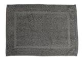 Soleil d'Ocre 477042 Tapis de Bain Coton Gris 70 x 50 cm