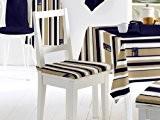 Soleil d'Ocre Dessus de chaise 40x40 cm réf. NAUTICA c./ taupe - Soleil d'Ocre