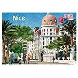 Souvenirs de France - Magnet Métal Nice 'Hôtel Negresco'