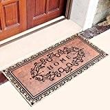 SQZH Intérieur en caoutchouc Tapis d'accueil pour Porte d'entrée de paillasson pour Mordern Décoration d'intérieur Tapis Profil bas entrée Cuisine ...