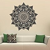 Sticker Mural , Transer Chambre de Style indien Mandala fleur Wall Decal Art Stickers décoration
