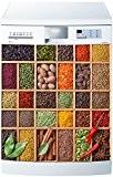 Stickersnews - Magnet lave vaisselle Boite à épices 60x60cm réf 5505