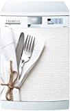 Stickersnews - Magnet lave vaisselle Couverts 60x60cm réf 593