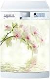 Stickersnews - Magnet lave vaisselle Orchidée blanche 60x60cm réf 623