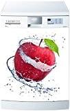 Stickersnews - Magnet lave vaisselle Pomme rouge 60x60cm réf 618