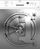Stickersnews - Sticker lave vaisselle Coffre fort ou magnet lave vaisselle Dimensions - 60x60cm