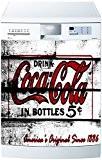 Stickersnews - Sticker lave vaisselle ou magnet lave vaisselle Coca Cola 1721 Dimensions - 60x60cm