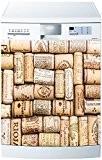 Stickersnews - Stickers lave vaisselle ou magnet Bouchons 5507 Dimensions - 60x60cm