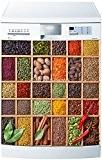 Stickersnews - Stickers lave vaisselle ou magnet Epices 5505 Dimensions - 60x60cm