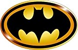 Stickersnews - Stickers Logo Batman réf 15080 Dimensions - 20 cm