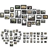 Sungle (Vision améliorée) Cadre photo en grand format 26 photos Set (Noir amélioré)