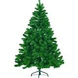 SunJas Arbre de Noël artificiel arbres de Noël PVC Art sapin haut de Noël Sapin [Classe énergétique A +++] Arbre ...
