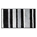 Sunvp Home Tapis de Bain de Douche Microfibre Polyester Antidérapant et Imperméable 86 x 53 cm pour Salle de bain ...