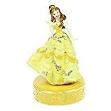 Superbe boîte à bijoux de collection sous licence Disney Princess Boîte à souvenirs (La BELLE & BEAUTY bête)