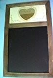 Tableau de ma Grand Tableau-Ardoise à craie avec cadre en bois finition antique et ornementale_habituelle dans les magasins destinés au ...