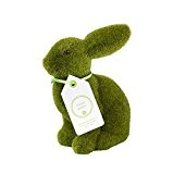 Talking Tables MIX-GRASSBUNNY Lapin de Pâques décoration Plastique Multicolore 15 x 15 x 15 cm