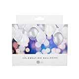 Talking Tables WHT-BALLPK Ballon de plafond Papier Multicolore 15,5  x  16,10  x  15,5 cm