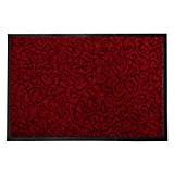 Tapis anti-poussière décoratif casa pura® rouge | absorbant, antidérapant | 4 couleurs, 3 tailles | Brasil, 90x150cm