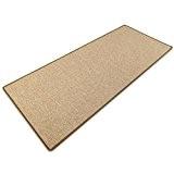 Tapis beige doux casa pura® effet sisal | polypropylene + coton | salon, chambre, couloir | 7 couleurs | au ...