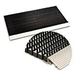 Tapis brosse entrée casa pura® Profi Brush en profilé d'aluminium | brosses en nylon - effet nettoyant élevé | 2 ...
