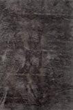 Tapis contemporain pilepoil -  gris foncé 140 x 200 cm - fausse fourrure - Fabrication Française