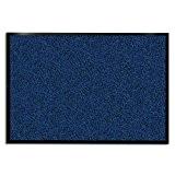 Tapis d'entrée casa pura® bleu-noir | très absorbant + lavable | plusieurs tailles au choix - 90x600cm