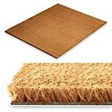 Tapis d'entrée en coco casa pura® en couleur nature | fibres en coco naturel - effet nettoyant élevé | épaisseur ...