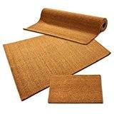 Tapis d'entrée en coco casa pura® en couleur nature | fibres en coco naturel - effet nettoyant élevé | usage ...