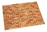 Tapis de Bain Bambou Tapis de Sauna 40x60 cm matière écologique et durable BAMBOU