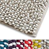 Tapis de bain beige et blanc casa pura® microfibre | absorbant résistant | 6 couleurs au choix | Manta - ...