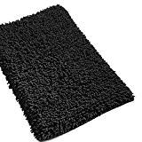 Tapis de bain Chenille PURE - Noir ( 50x80 )