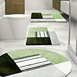 Tapis de bain Jonas certifié Oeko-Tex 100 et lavable   poil très doux   plusieurs tailles au choix - 60x100cm