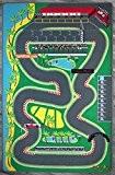 Tapis de jeu enfant - Circuit de F1 pour petites voitures - 130 X 200 cm