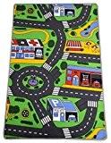 Tapis de jeu Route Circuit enfant - 120 x 80 cm