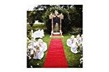 Tapis de mariage 1m x 10m rouge