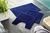tapis de salle de bain Combi-Économie | lavalble antidérapant | Tapis de bain 60 x 100 cm, 50 x 80 ...