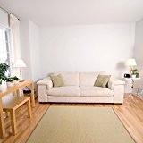 Tapis de salon casa pura® Salvador | tissé en fibres naturelles 100% sisal | 11 couleurs, 7 tailles | antidérapant| ...
