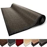 Tapis de salon gris 100% Sisal naturel casa pura® Amazonas | 3 tailles | bordure coton | dos latex antidérapant ...