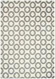 Tapis de salon moquette Carpet moderne Design ARLO BUCKLE KREIS RUG Microfibre Polyester 200x300 cm rectangle Gris | Tapis acheter ...
