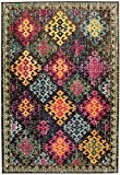 Tapis de salon moquette Carpet moderne Design COLORES VINTAGE RUG 100% Heatset Polypropylen 120x170 cm rectangle Multicolor | Tapis acheter ...