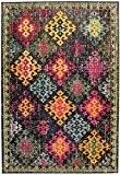 Tapis de salon moquette Carpet moderne Design COLORES VINTAGE RUG 100% Heatset Polypropylen 120x170 cm rectangle Multicolor   Tapis acheter ...