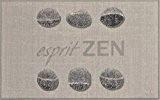 Tapis Déco Tapis Imprimé Esprit Zen Polyamide/Latex 80 x 50 cm