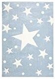 Tapis enfants Happy Rugs ÉTOILES bleu 80x150 cm