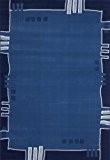 Tapis Funky 514 Bleu 120cm x 170cm 100% polypropylène