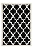 Tapis Maroc 2087 Noir Noir 120cm x 170cm 100% polypropylène