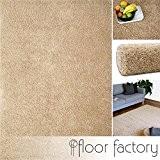 Tapis Moderne Colors beige 160x230cm - tapis shaggy longues mèches au prix super bas