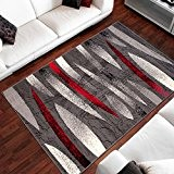 Tapis Moderne Design Des Pierres Gris Differentes Dimensions (80 x 150 cm)