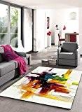 Tapis Moderne Modèle Brosse Coloré , Dimension:120x170 cm